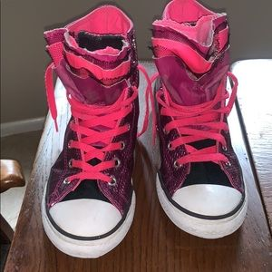Converse High Tops Girl's Sz 4